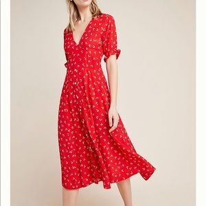 🌿Faithfull the Brand Jeanne Midi Dress